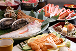Seafood from the 5 biggest brands and Tajima beef